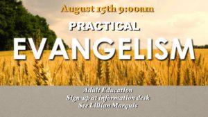 Practical Evangelism Course 1